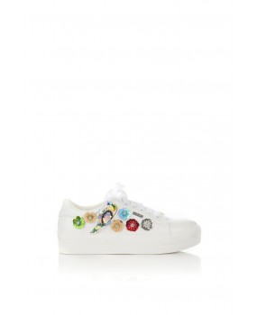 Axel Sneakers Whit Flowers 1211-0061